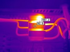 Fuse Fault Thermal Image